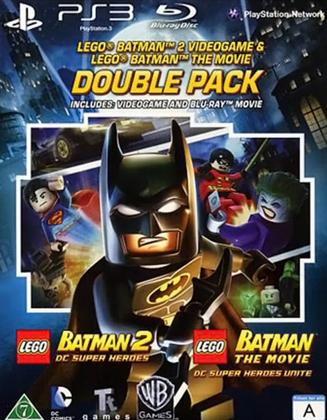 LEGO Batman 2 DC Super Heroes a LEGO batman the MOVIE Blu-ray (PS3)