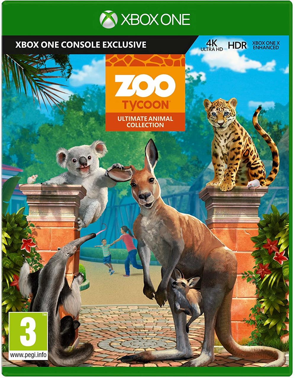 Zoo Tycoon Ultimate Animal Collection (Xbox One)