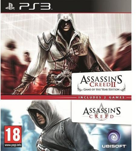 Assassin's Creed 1 & Assassin's Creed 2 Double Pack (PS3)