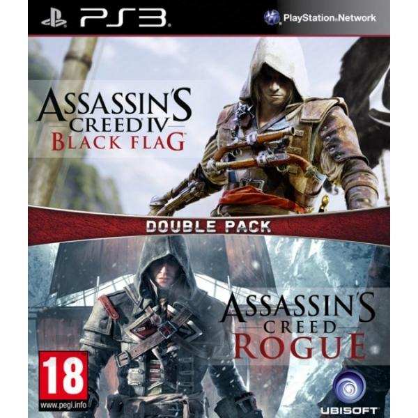 Assassin's Creed 4: Black Flag & Rogue (PS3)