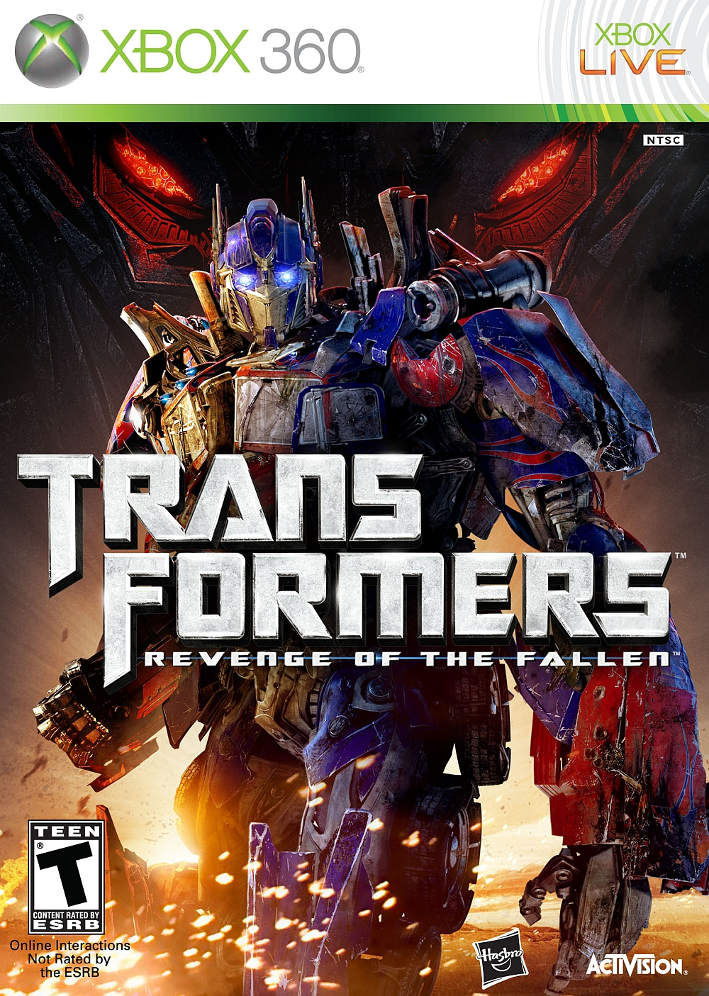 Transformers: Revenge of the Fallen (Xbox 360)