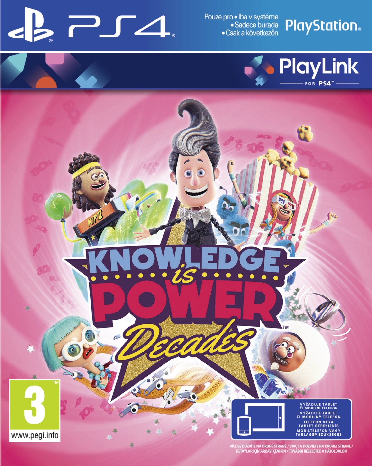 Knowledge is Power: Decades (PS4)