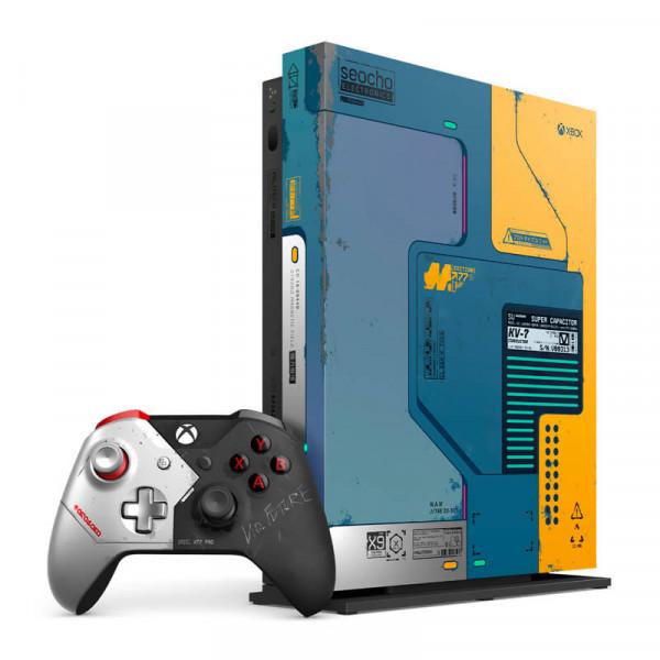 Xbox One X 1TB Cyberpunk 2077 Edition