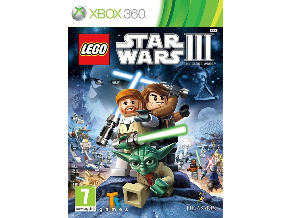LEGO Star Wars 3: The Clone Wars (Xbox 360)