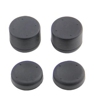 Kloboučky na analogové páčky - černé