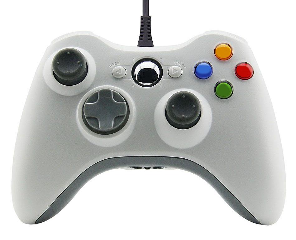 Xbox 360 Wired Controller for Windows Barva: bílý
