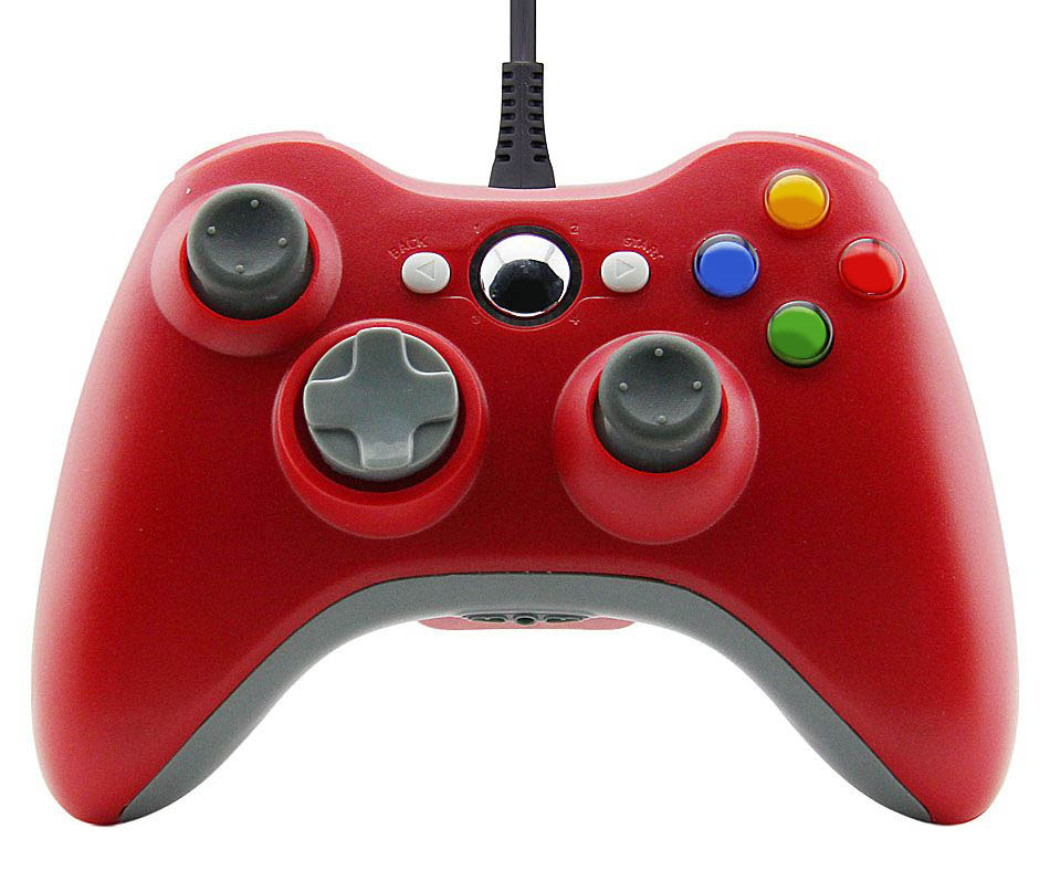 Xbox 360 Wired Controller for Windows Barva: červený