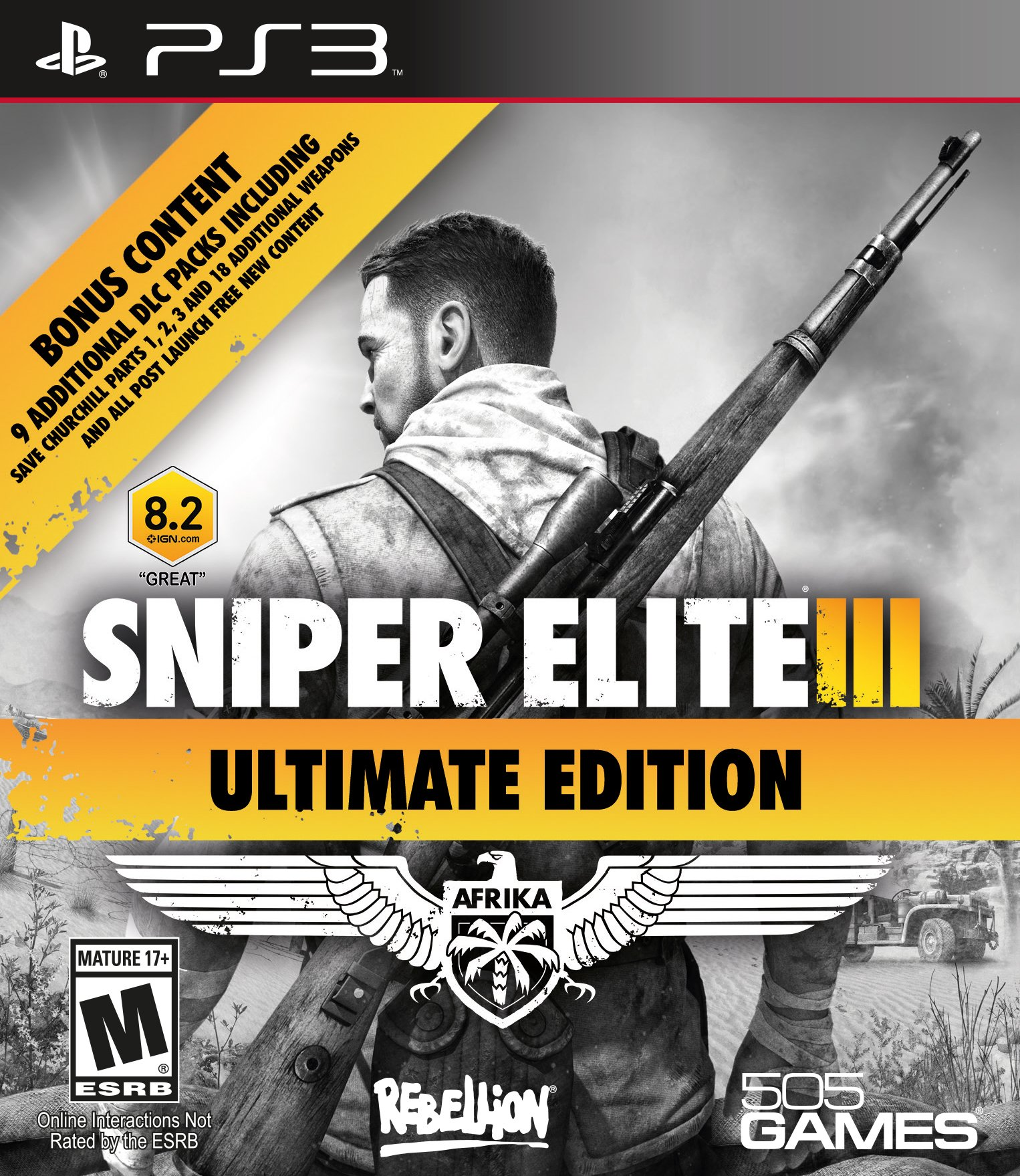Sniper Elite 3 (Ultimate Edition) (PS3)
