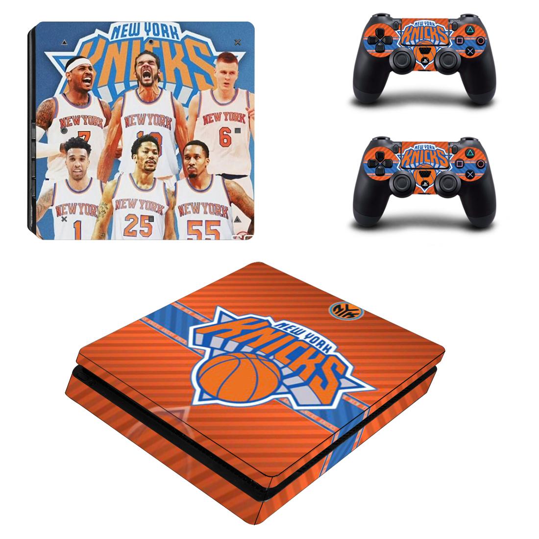PS4 Slim Polep Skin New York Knicks