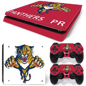 PS4 Slim Polep Skin Florida Panthers