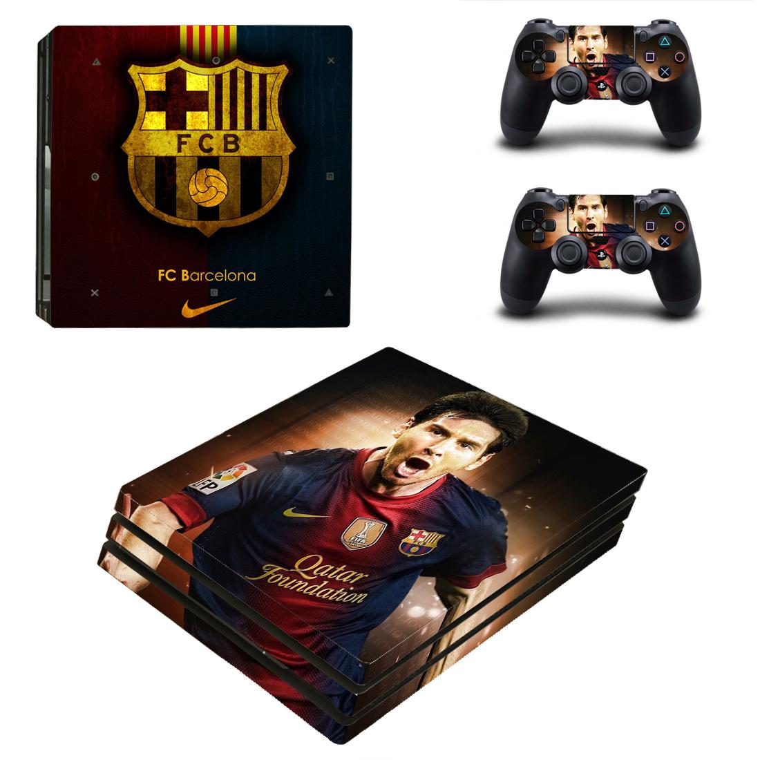 PS4 Pro Polep Skin Lionel Messi