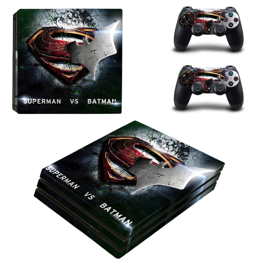PS4 Pro Polep Skin Batman vs Superman