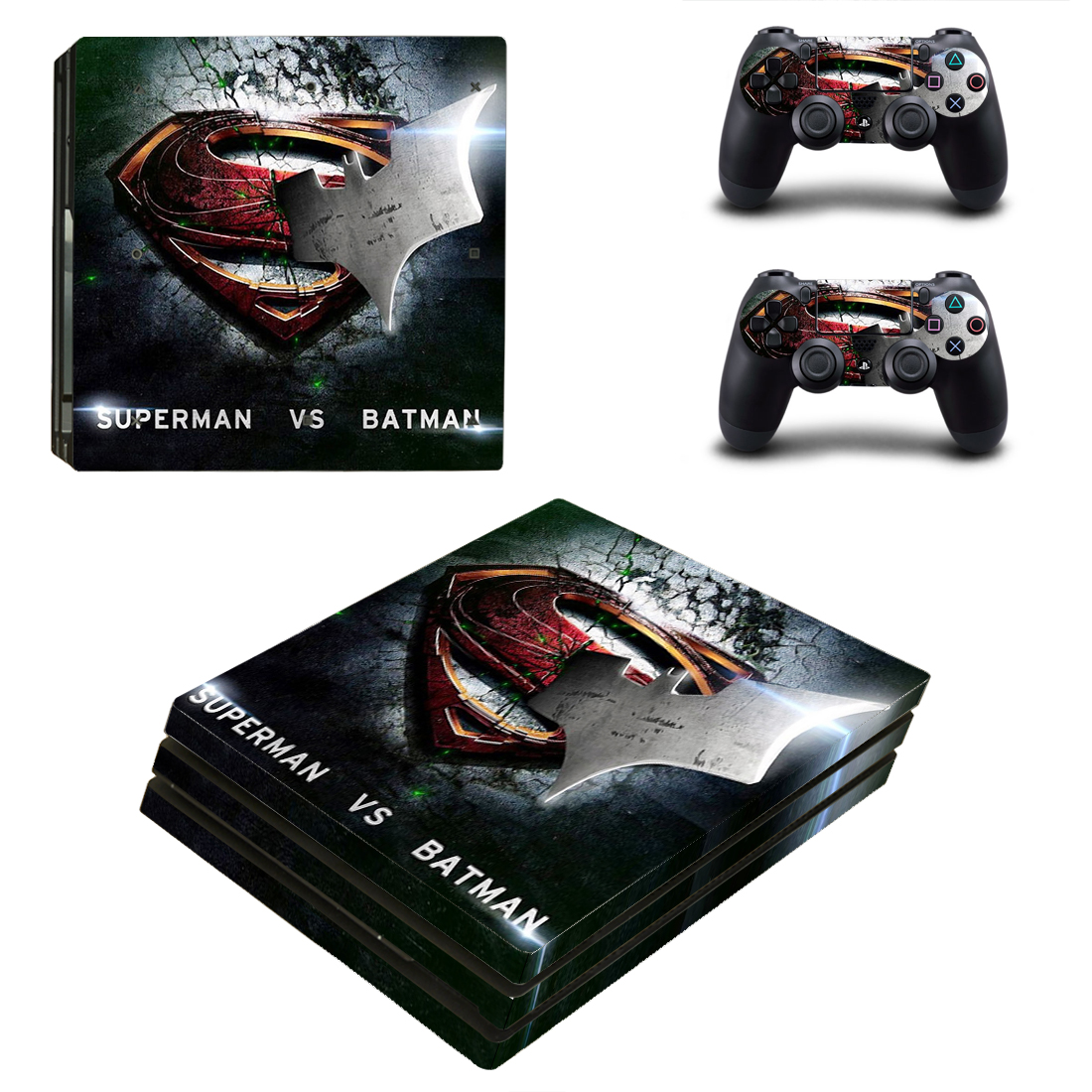 PS4 Pro Polep Skin Batman vs Superman