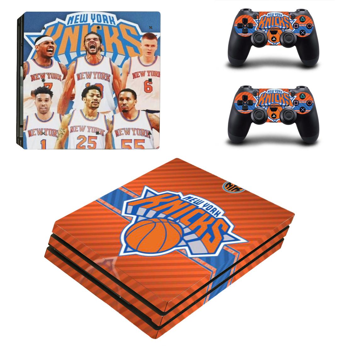 PS4 Pro Polep Skin New York Knicks