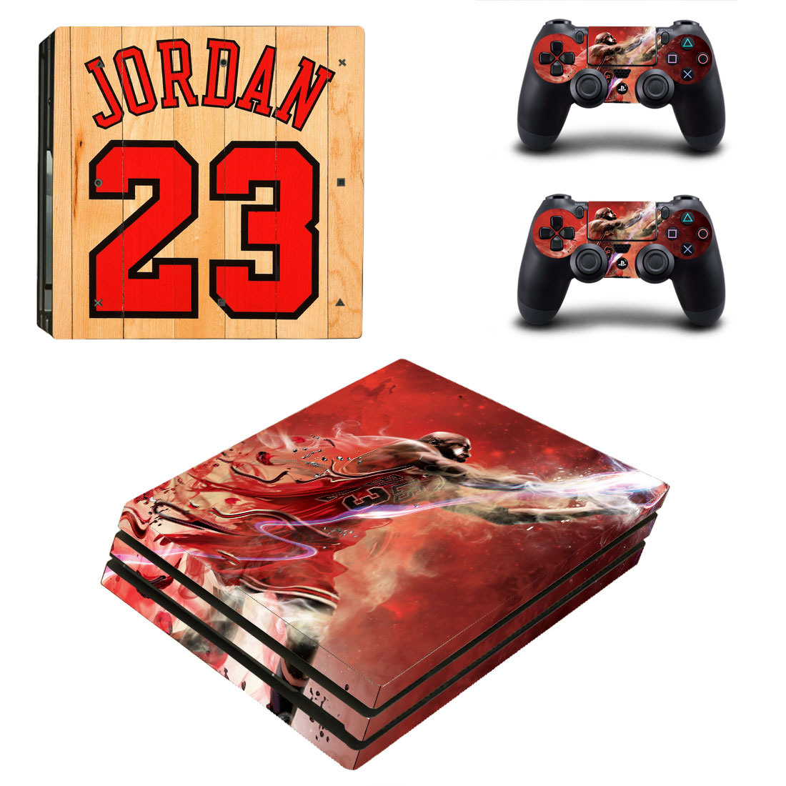 PS4 Pro Polep Skin Jordan 23