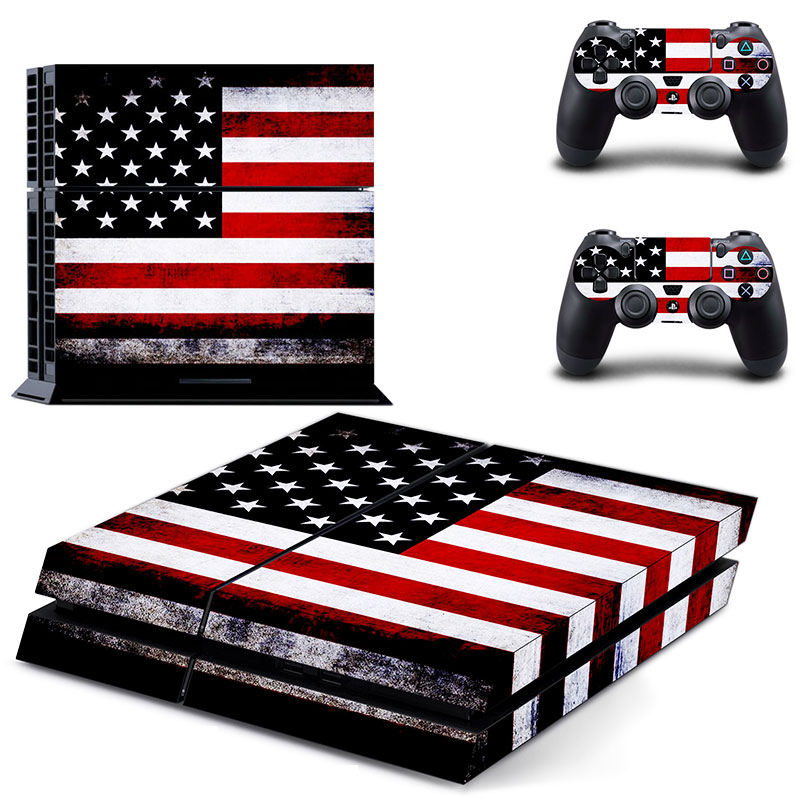 PS4 Polep Skin USA