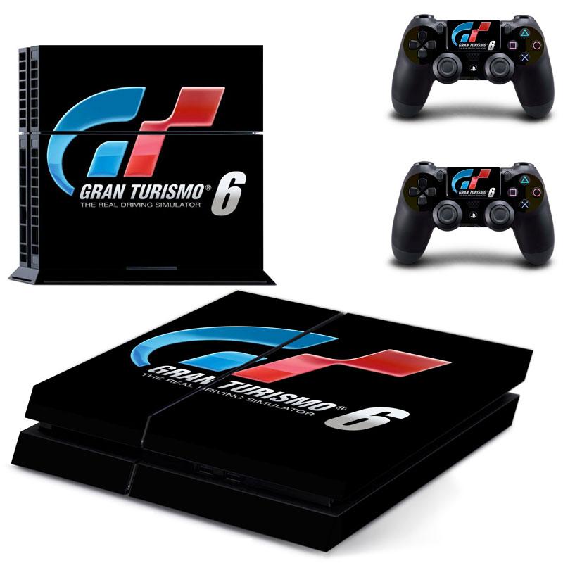 PS4 Polep Skin Gran Turismo 6