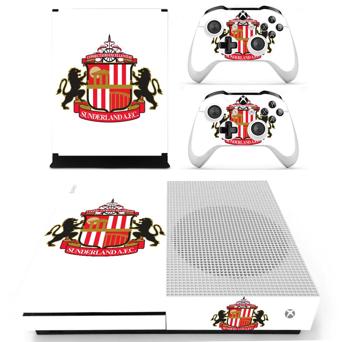 Xbox One S Polep Skin Sunderland AFC