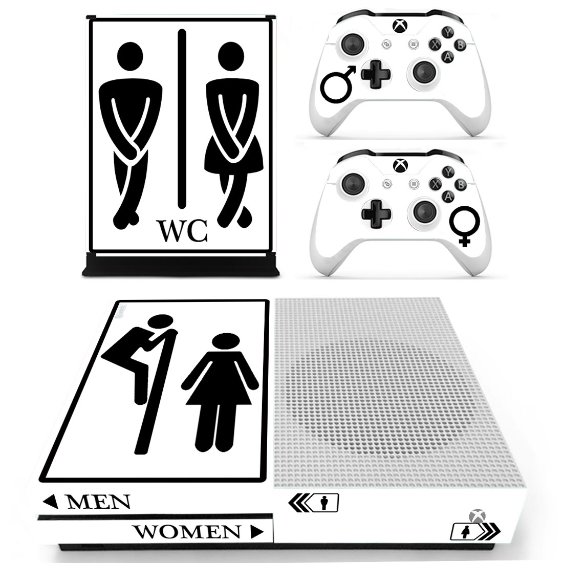 Xbox One S Polep Skin Men Women