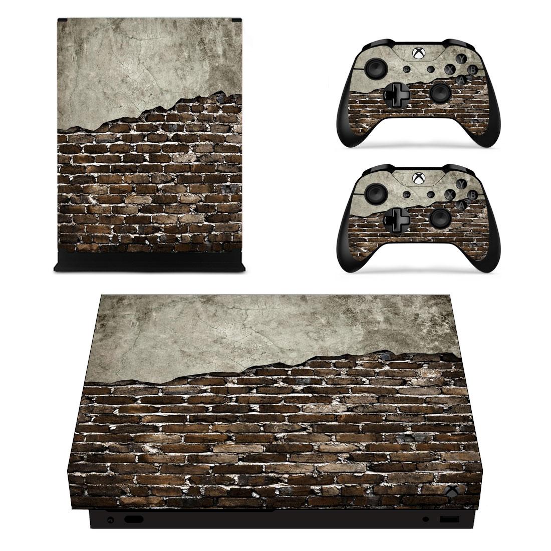 Xbox One X Polep Skin Wall