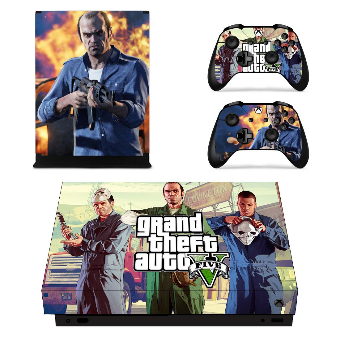 Xbox One X Polep Skin GTA 5