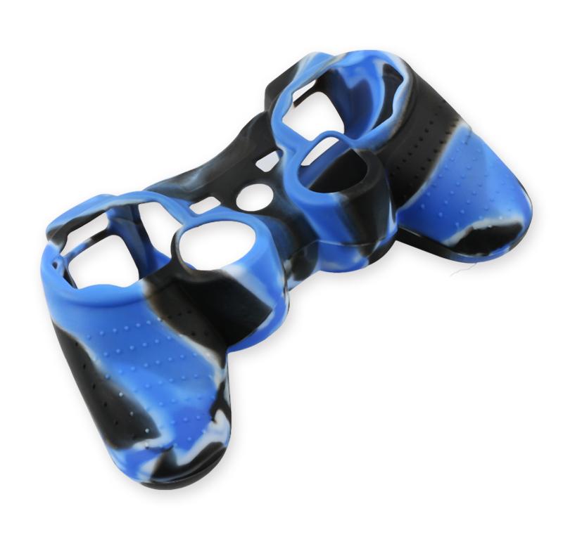 Silikonový obal na ovladač (PS3) Barva: světle modrý