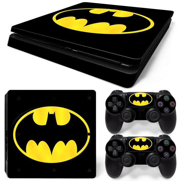PS4 Slim Polep Skin Batman