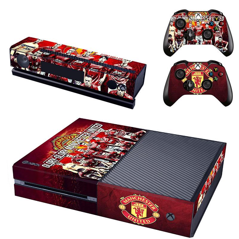 Xbox One Polep Skin Manchester United FC