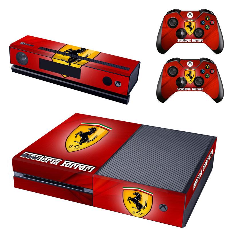 Xbox One Polep Skin Ferrari