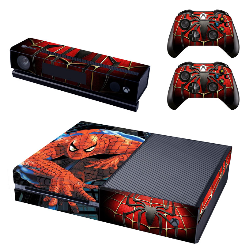 Xbox One Polep Skin Spiderman