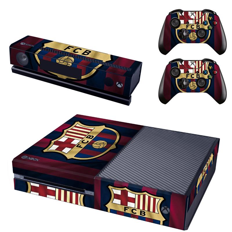 Xbox One Polep Skin FC Barcelona
