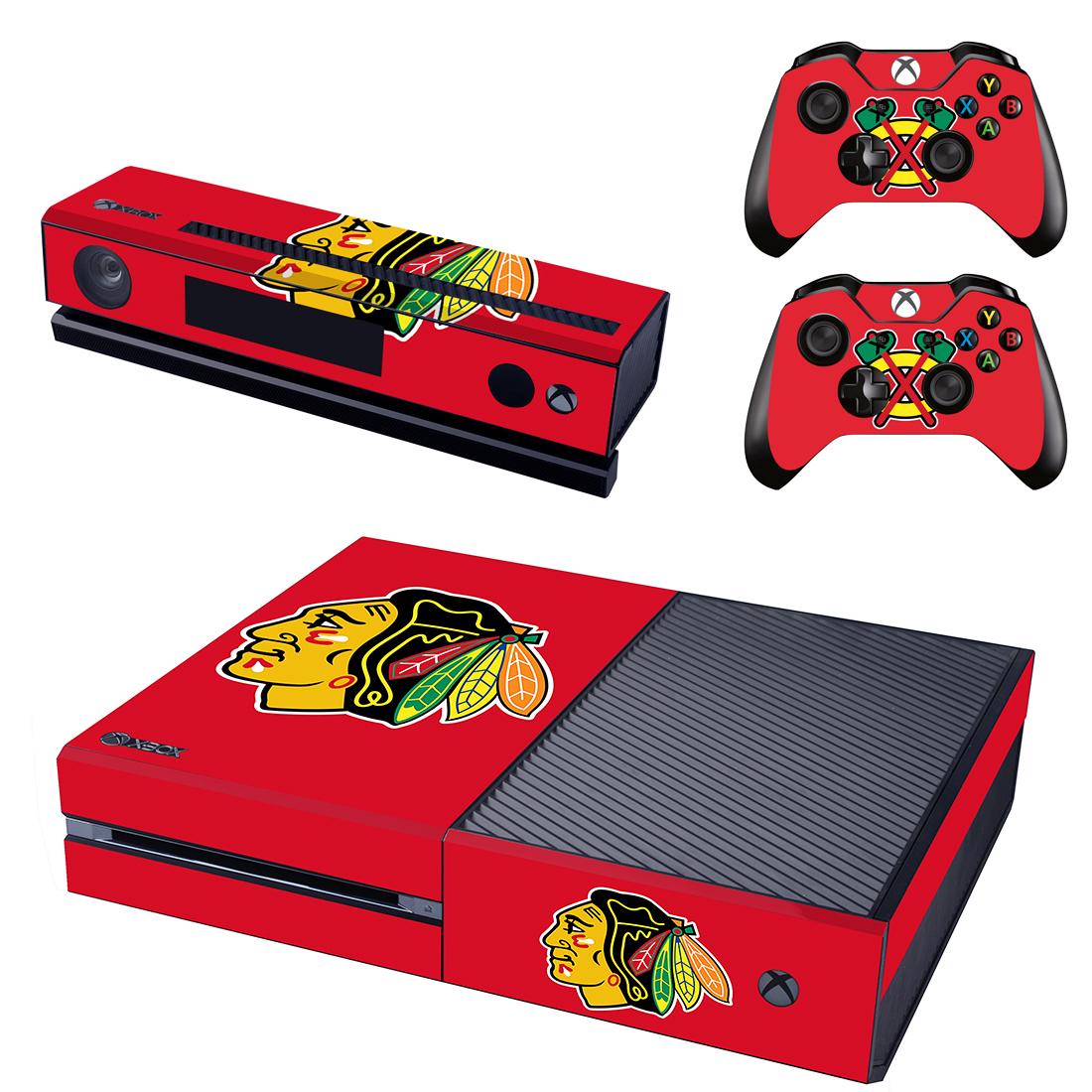 Xbox One Polep Skin NHL - Chicago Blackhawks