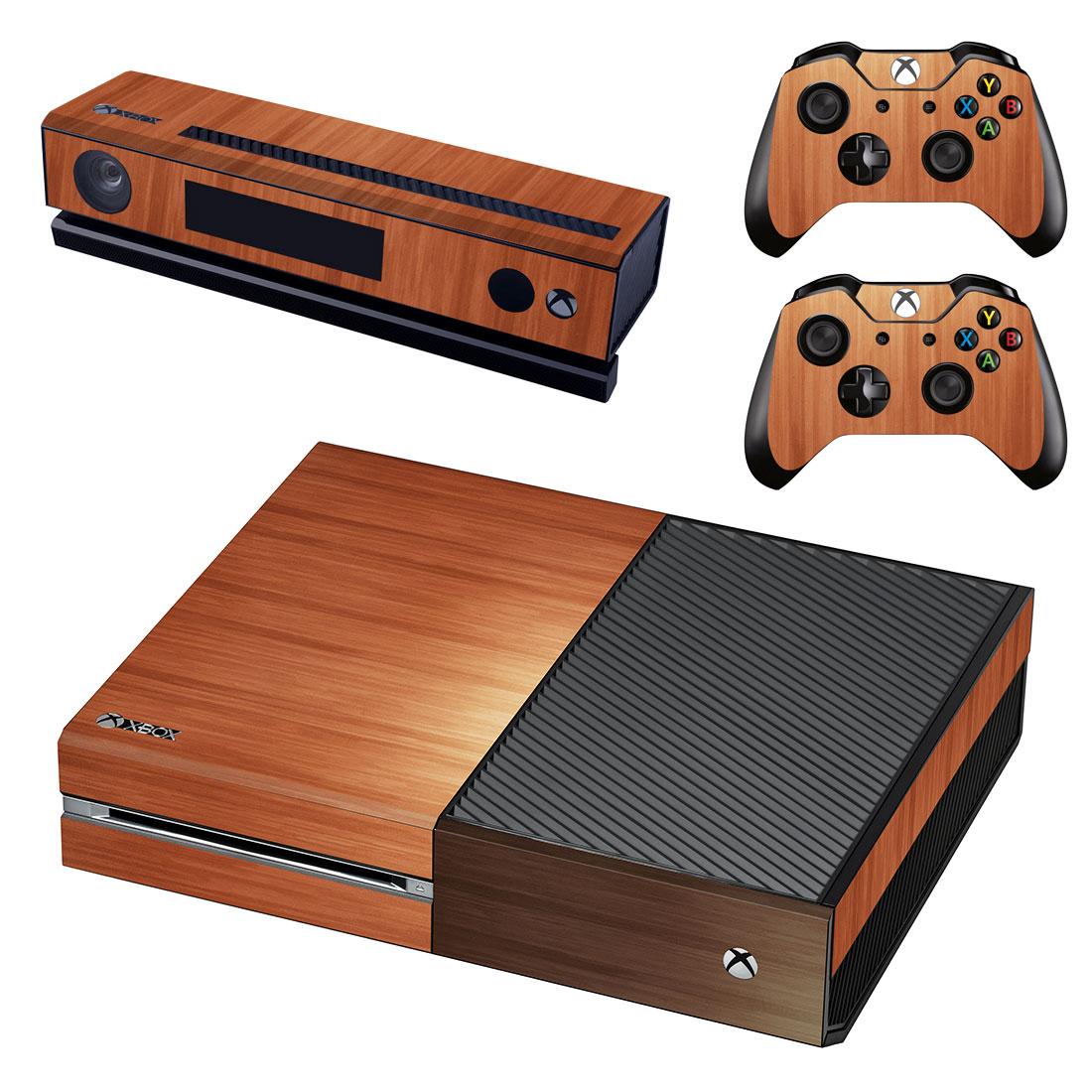 Xbox One Polep Skin Wood
