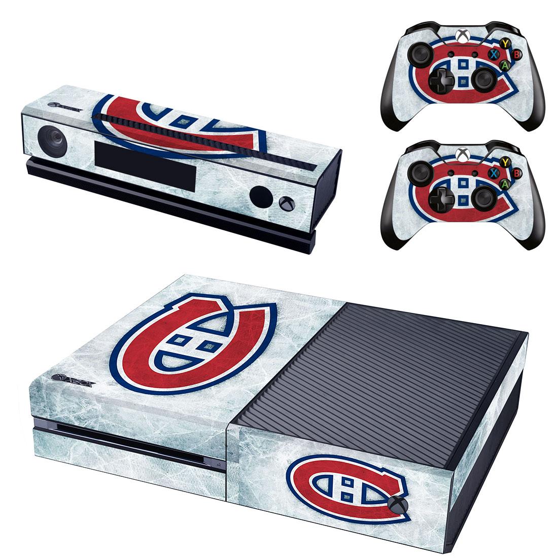 Xbox One Polep Skin NHL - Montreal Canadiens