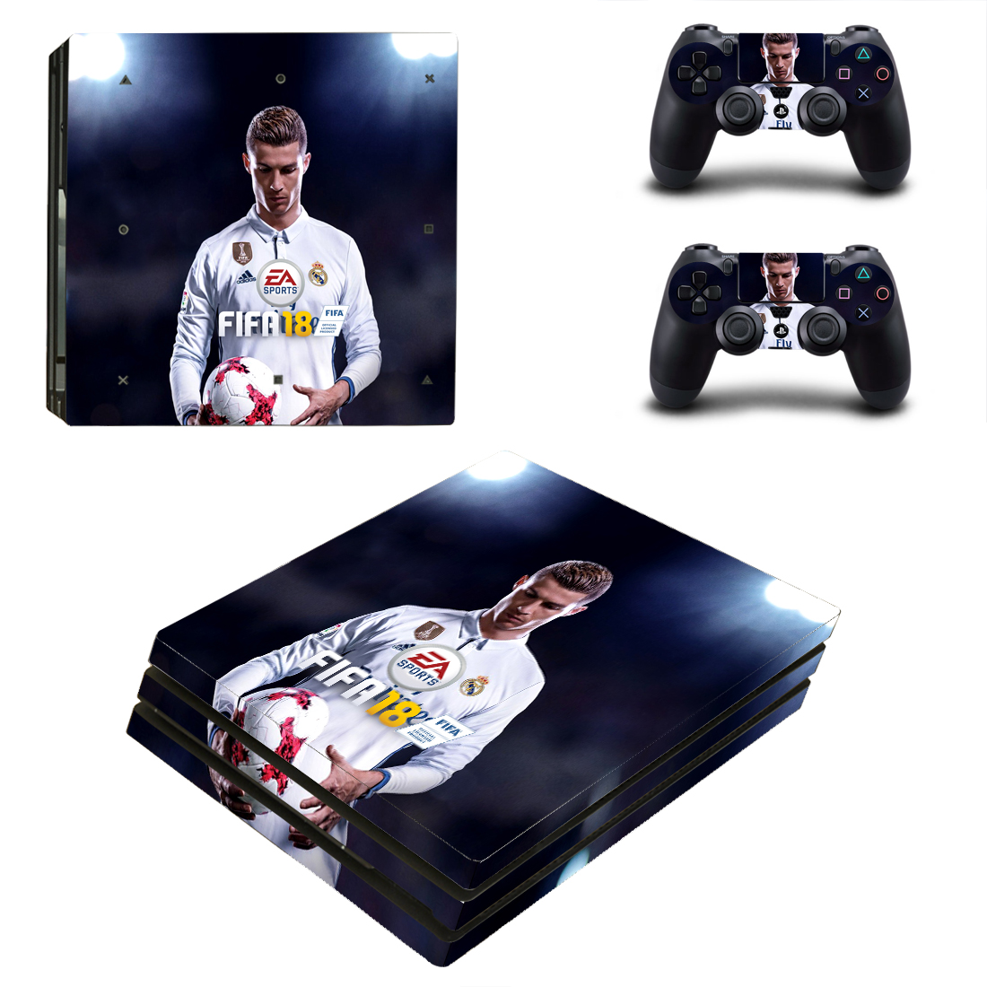 PS4 Pro Polep Skin FIFA 18