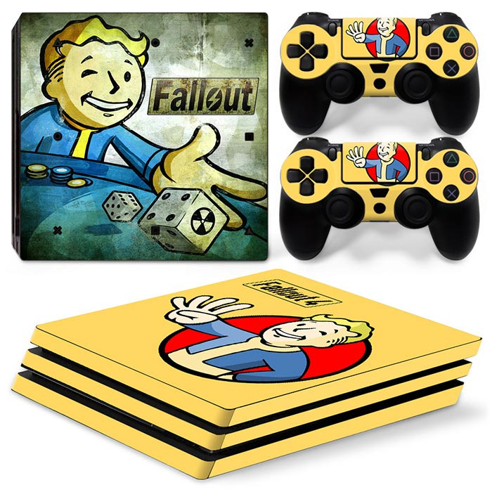 PS4 Pro Polep Skin Fallout