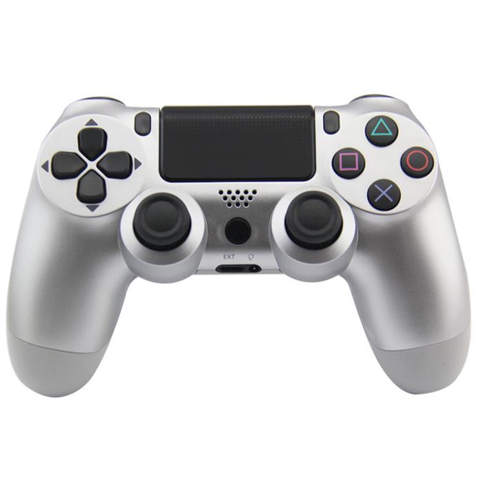 Bezdrátový ovladač (PS4) Barva: stříbrný