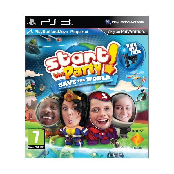 Start the Party! Save the World (PS3)