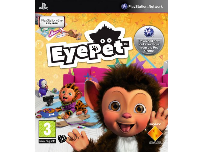 EyePet (Move Edition) (PS3)