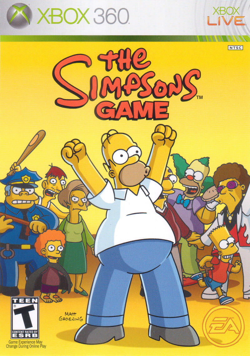 The Simpsons Game (Xbox 360)