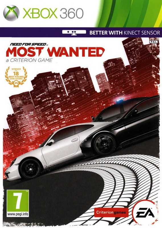 Need for Speed: Most Wanted 2 (Xbox 360)