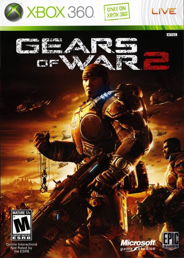 Gears of War 2 CZ (Xbox 360)