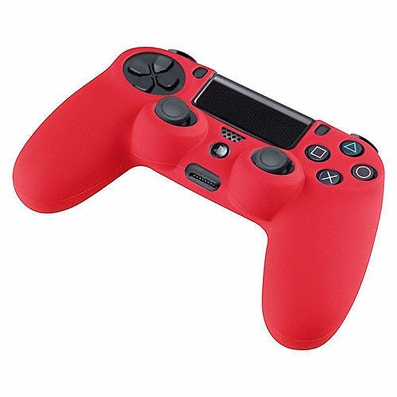 Silikonový obal na ovladač (PS4) Barva: červený