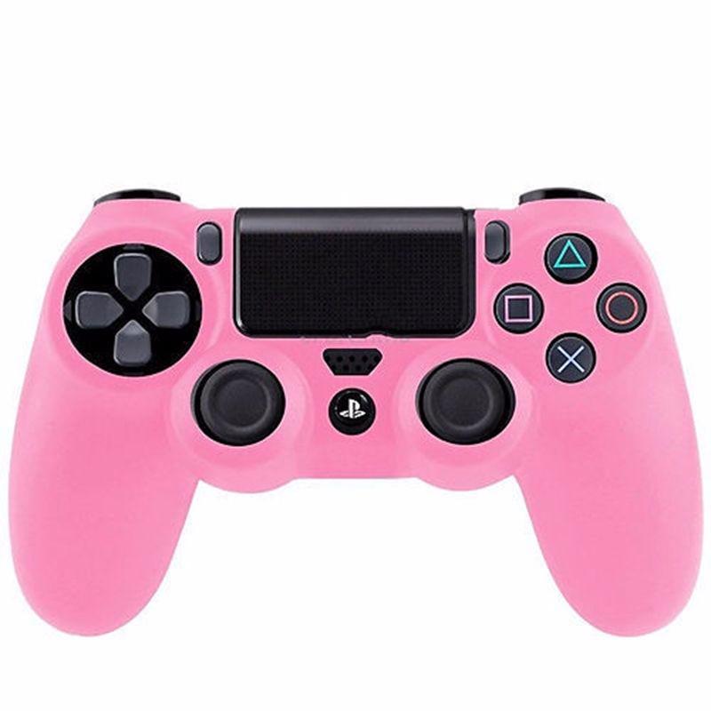 Silikonový obal na ovladač PS4 Barva: růžový