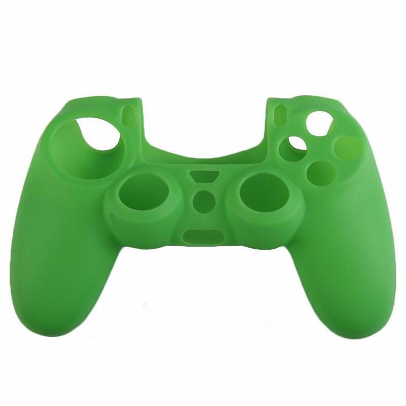 Silikonový obal na ovladač (PS4) Barva: zelený