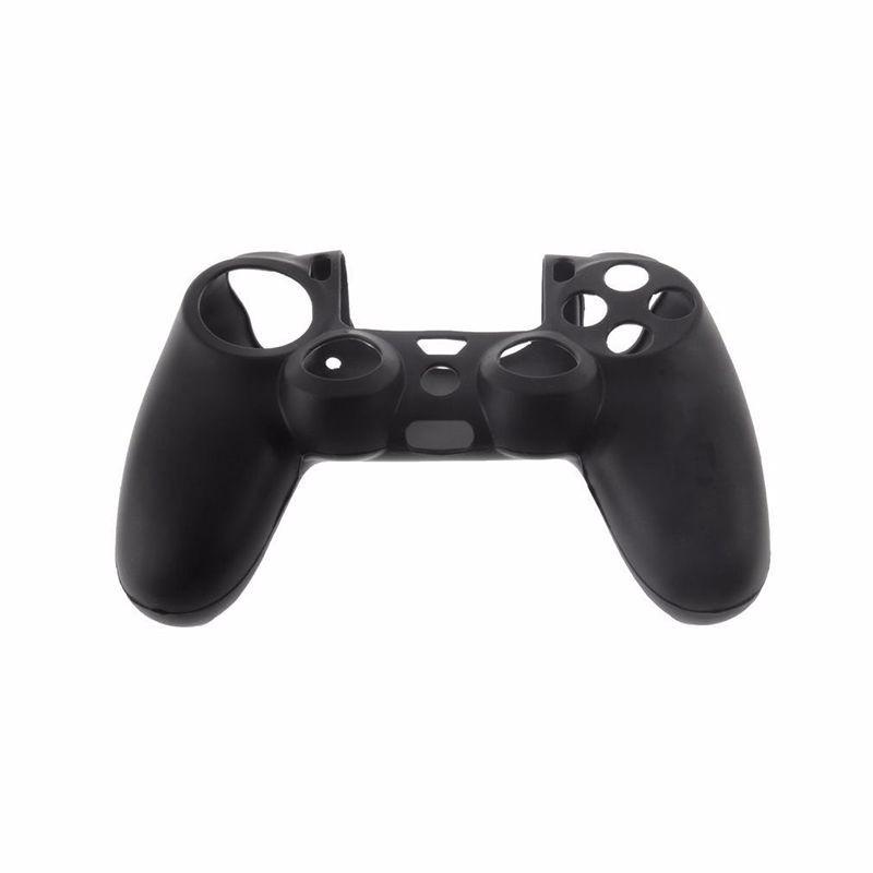 Silikonový obal na ovladač (PS4) Barva: černý