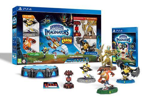Skylanders: Imaginators Starter Pack - Crash Bandicoot Edition (PS4)