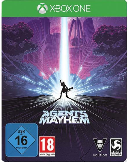 Agents of Mayhem (Steelbook Edition) (Xbox One)