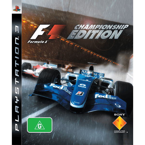Formula One (Championship Edition) (PS3)