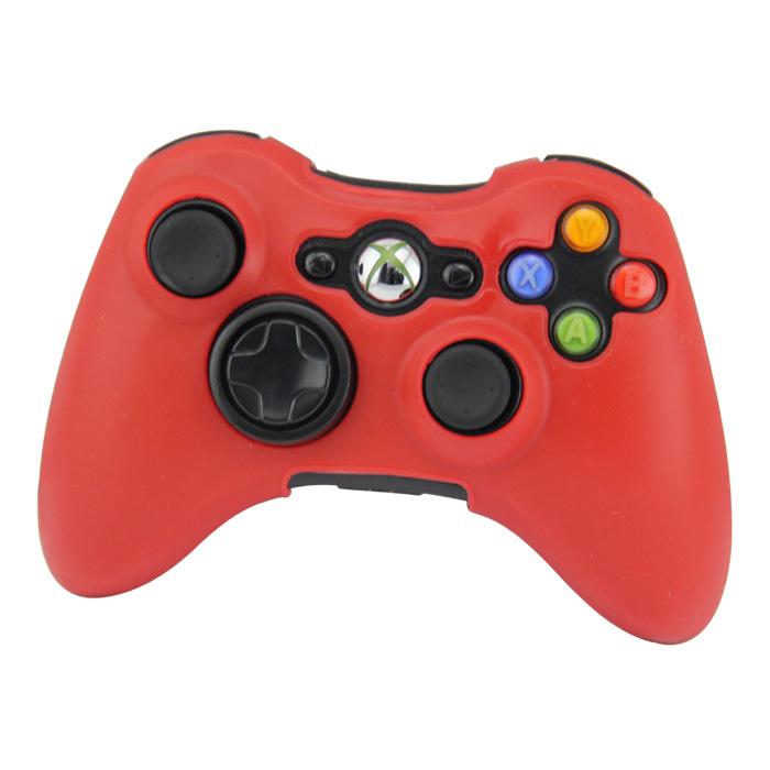 Silikonový obal na ovladač Xbox 360 Barva: červený